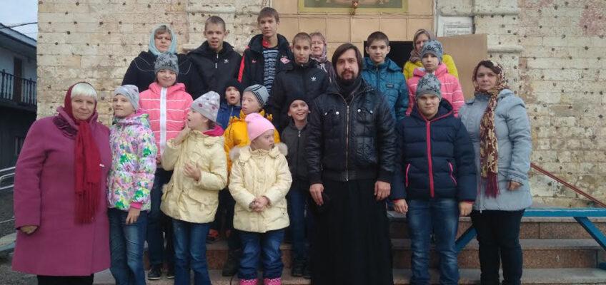 У нас в гостях — воспитанники Первомайского детского дома-интерната