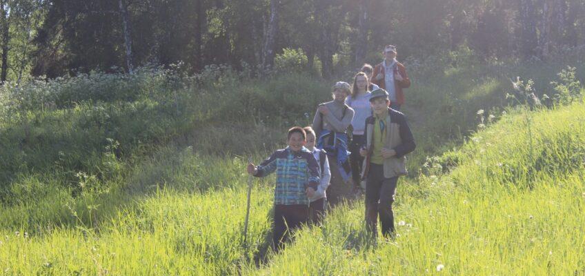 Состоялся поход молодежной группы нашего храма