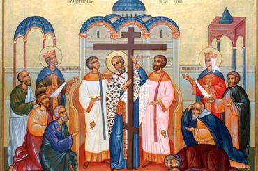 Проповедь в день Воздвижения Честного и Животворящего Креста Господня