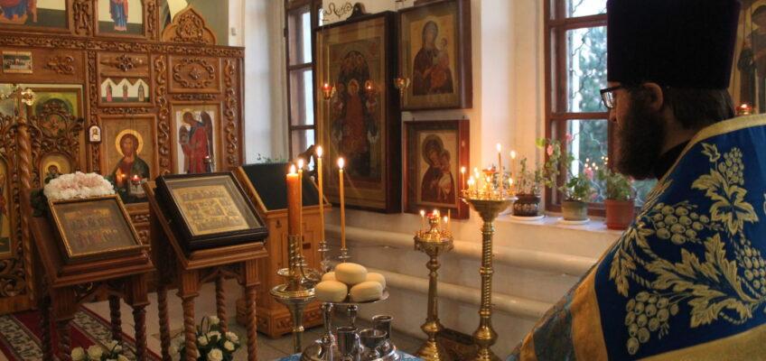 Всенощное бдение в канун праздника Покрова Пресвятой Богородицы