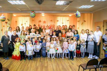 Встреча воскресных школ в Щапово