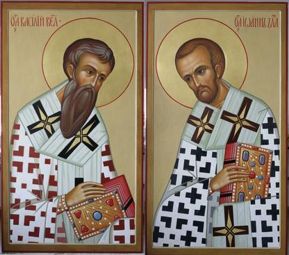 Установлены иконы в третий ряд иконостаса