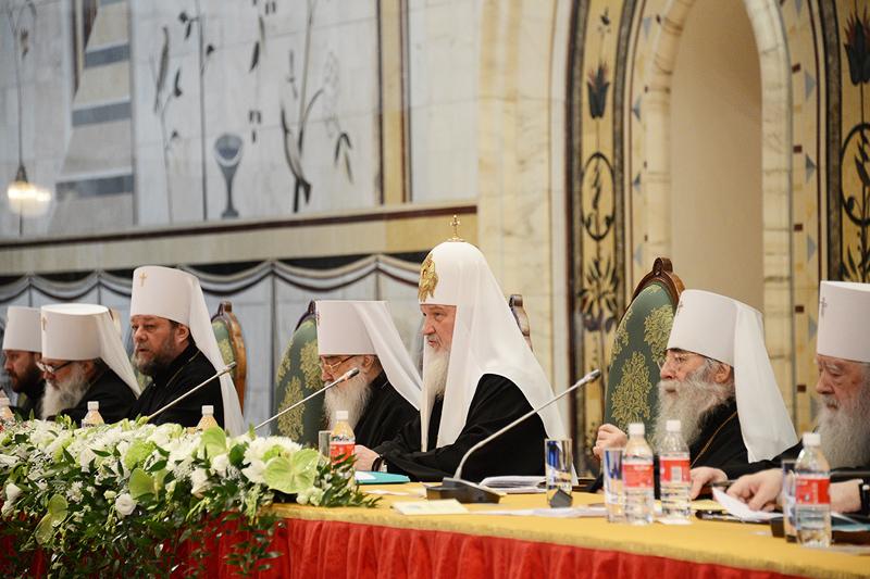 Постановления Освященного Архиерейского Собора Русской Православной Церкви