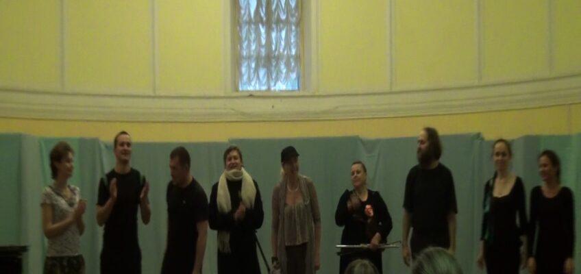 Театральный коллектив «Здравствуйте» принял участие в акции «Ночь в музее»