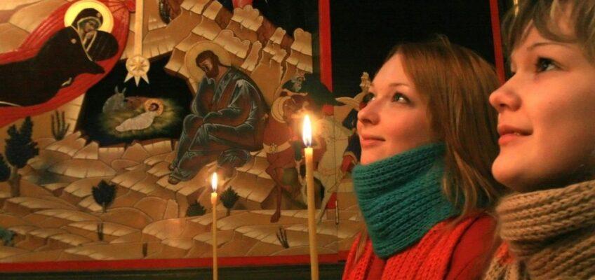 Навечерие Рождества Христова, Рождественский сочельник