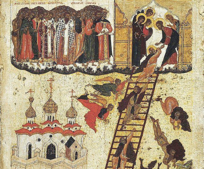 Четвертая седмица Великого поста, преподобного Иоанна Лествичника