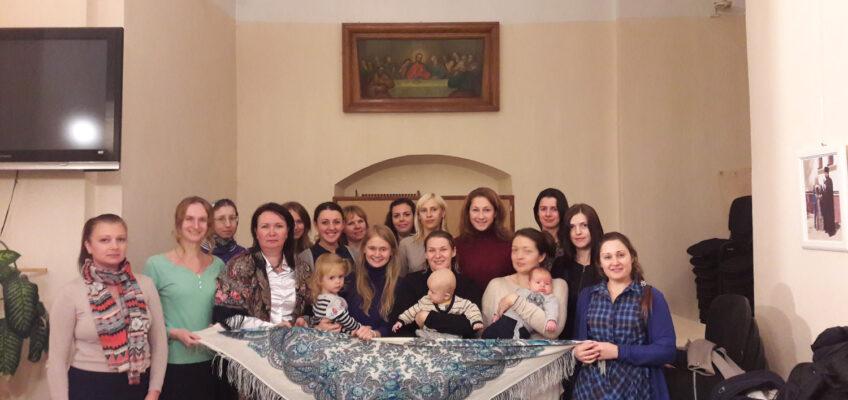 """Казачки ХКО  """"Котловка"""" приняли участие в сестрической встрече"""
