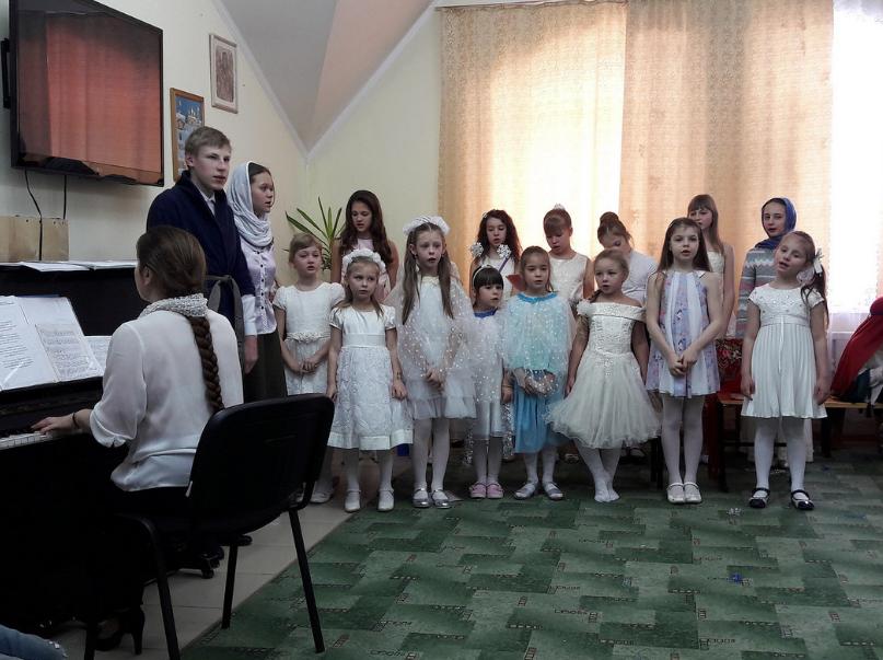 Рождественский спектакль в Воскресной школе