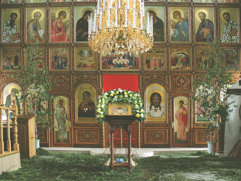 Анонс. День Святой Троицы — престольный праздник храма в Ознобишино