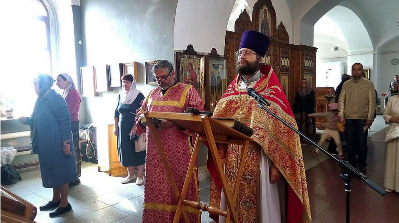 Божественная литургия в день Усекновения главы Пророка, Предтечи и Крестителя Господня Иоанна