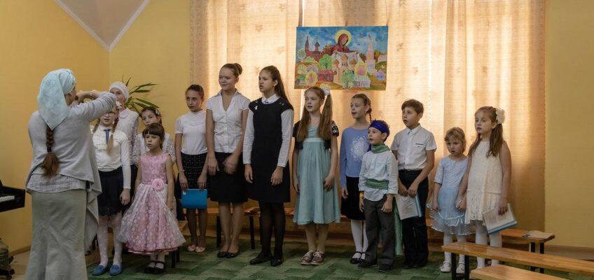 Праздничный концерт в Воскресной школе