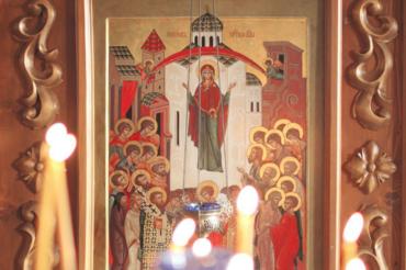 Анонс. Покров Пресвятой Богородицы – престольный праздник храма в Ознобишино
