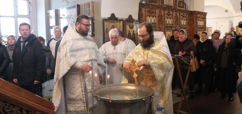 Празднование Крещения Господня в Ознобишино