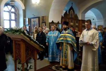 Празднование Сретения Господня в Ознобишино