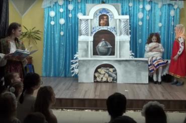 """Спектакль """"Морозко"""" в Воскресной школе (видео)"""