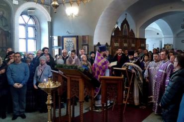 Празднование Торжества Православия в Ознобишино