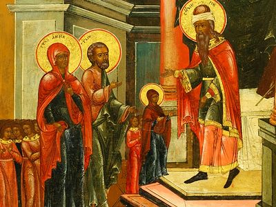 Проповедь на Введение во храм Пресвятой Богородицы