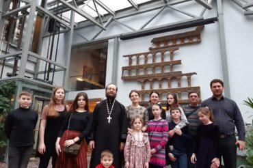 Воспитанники Воскресной школы посетили патриаршую литургию и Музей русской иконы