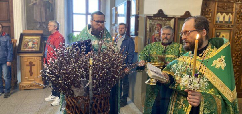 Празднование Входа Господня в Иерусалим